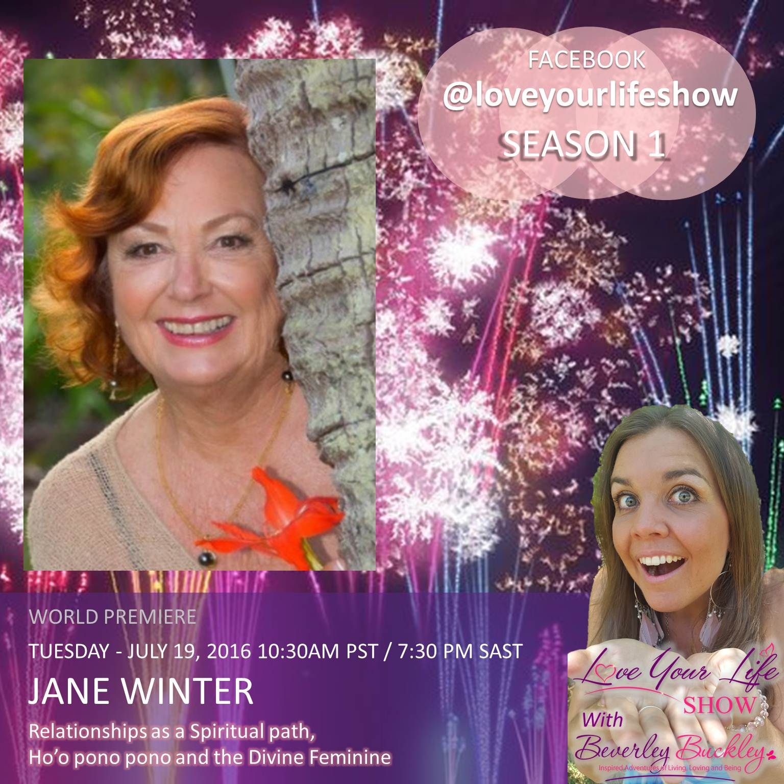 Jane Winter - Love your life show interview